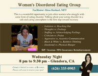 Eating Disorder Help Group - La Verne, Chino, Covina, CA