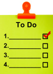 To Do List Clipboard For Organizing The Tasks